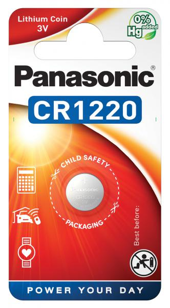 COIN LITHIUM - CR1220 - blister pack