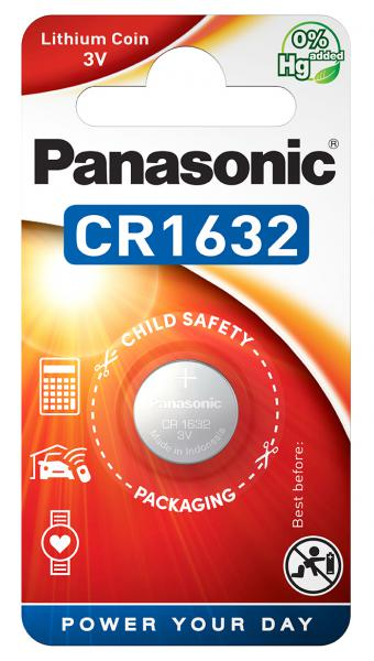 Panasonic Cr 1632el Size Cr1632 3v Lithium Power