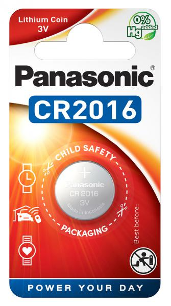 Panasonic Cr 2016el Size Cr2016 3v Lithium Power