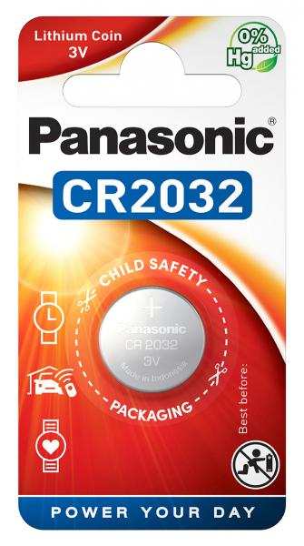 COIN LITHIUM - CR2032 - blister pack