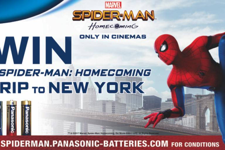 spiderman homecoming panasonic