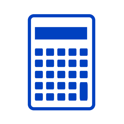 Suitable for calculator icon