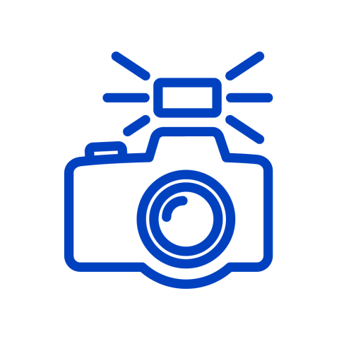 Suitable for camera flash icon