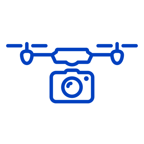 Suitable for drone icon