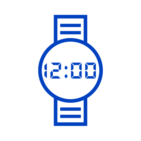 Suitable for watch icon